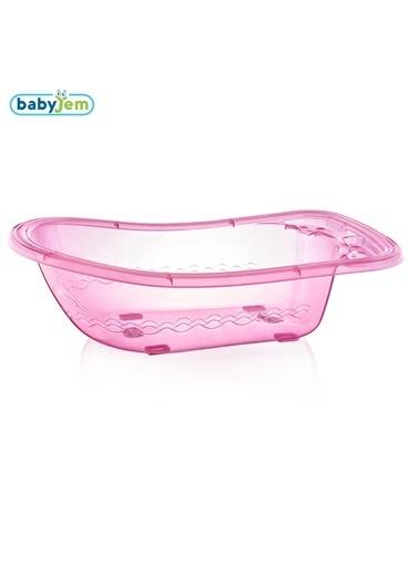 Baby Jem Babyjem Bebek Giderli Büyük Banyo Küveti  Pembe